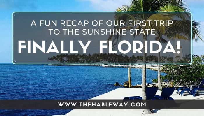 I Finally Made It To Florida!